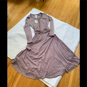 April Cornell Lavender top & skirt w/tag